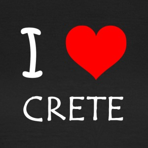 I Love Crete - Women's T-Shirt