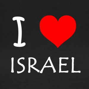 I Love Israel - Women's T-Shirt