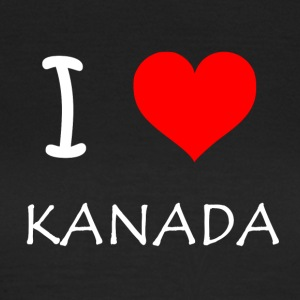 I Love Kanada - Frauen T-Shirt
