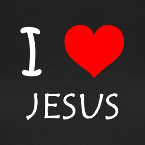 I Love Jesus - Women's T-Shirt