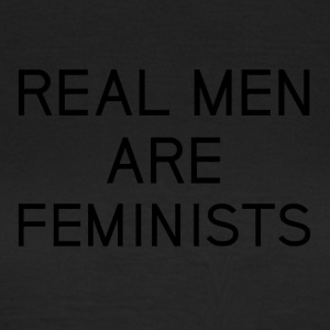 real_men_are_feminists - Camiseta mujer