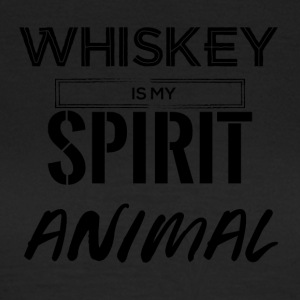 Whiskey is my Spirit Animal - Frauen T-Shirt
