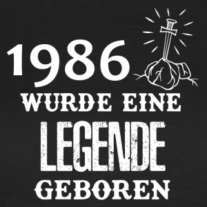 ++ 1986 ++ legend was born - Women's T-Shirt
