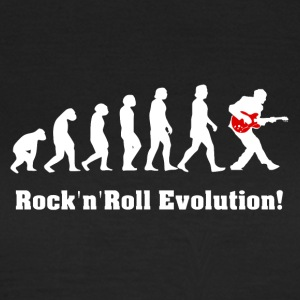 rockandroll evolution, rock, guitar - Women's T-Shirt