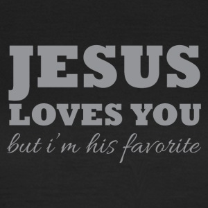 Jesus loves you - Vrouwen T-shirt