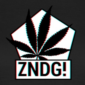 Tenning! ZNDG! cannabis blad - T-skjorte for kvinner