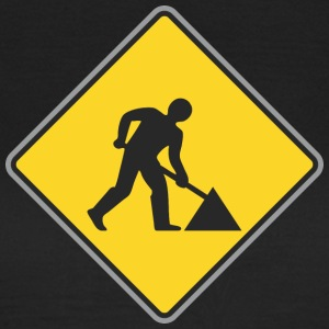 Road Sign Way repairing - Women's T-Shirt