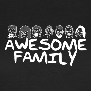 Awesome Family <3 - Vrouwen T-shirt