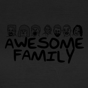 Awesome familie <3 - Dame-T-shirt