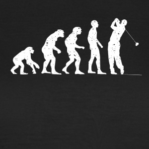 Evolution golf! - Dame-T-shirt