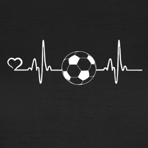 Football - battement de coeur - T-shirt Femme