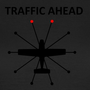 Trafik Ahead - Collision - Dame-T-shirt