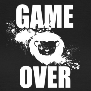 Gamer - Game Over - Vrouwen T-shirt