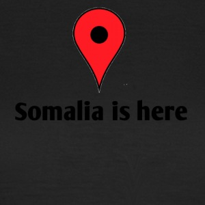 Somalia is here - T-skjorte for kvinner
