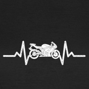 My heart beats for my motorcycle - Women's T-Shirt