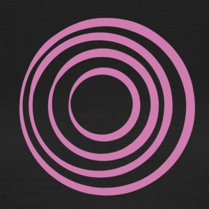 Pink Circles - Women's T-Shirt
