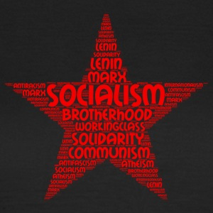socialism word cloud - Women's T-Shirt