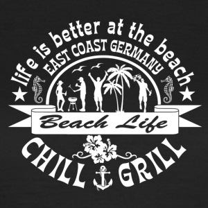 Chill Grill East Coast - Frauen T-Shirt