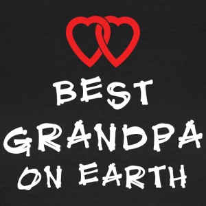 Best Grandpa On Earth - Women's T-Shirt