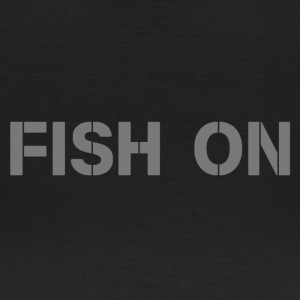 fish on scripture gray - Women's T-Shirt