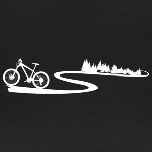 Mountainbike Trail - T-shirt dam