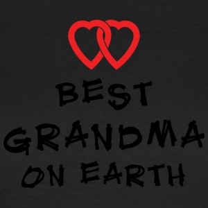 Beste Oma On Earth - Vrouwen T-shirt