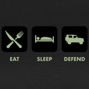 Eat, Sleep & Defend - T-shirt Femme