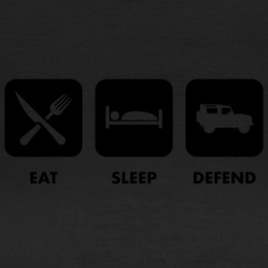 Eat, sleep & defend - T-shirt dam