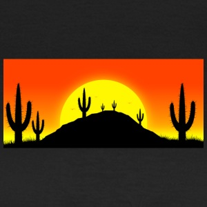 Cactuses in the desert - Women's T-Shirt