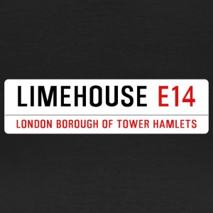Limehouse Street Sign - Women's T-Shirt