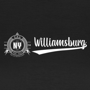 New York · Williamsburg - T-skjorte for kvinner