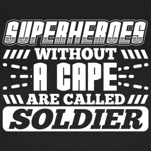 SUPERHEROES SOLDIER - Frauen T-Shirt