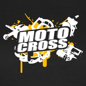 Motocross Supermoto Enduro Vol.I o / w - T-shirt Femme