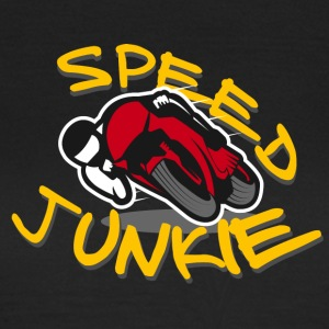 JUNKIE Speed ​​- Motorcycle Racer ROAD RACING - Koszulka damska