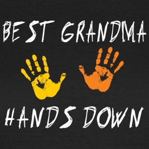 Meilleure grand-maman Hands Down - T-shirt Femme