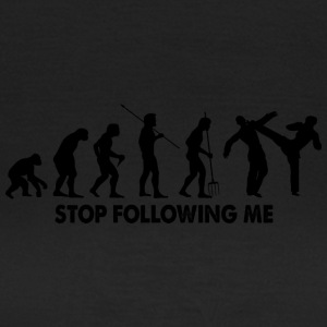 Evolution Stop Following Me - T-shirt Femme