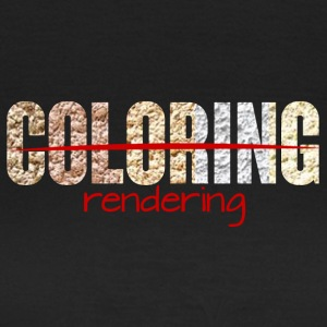 Architect / Architectuur: Coloring - rendering - Vrouwen T-shirt