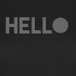 Hello binary - Women's T-Shirt