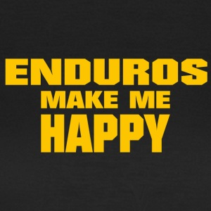 Enduro Make Me Happy - T-shirt Femme