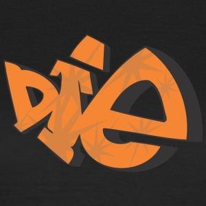 die 2 graffiti - T-shirt dam
