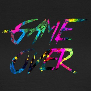 regnbue Game over - Dame-T-shirt