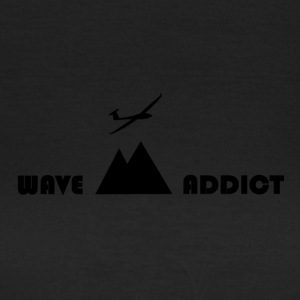 Wave addict black - T-shirt Femme