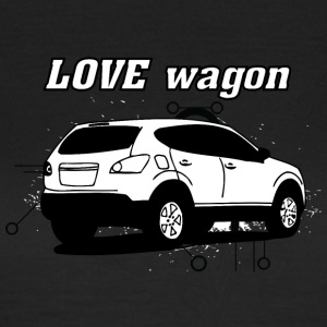 Love vagon white - Women's T-Shirt