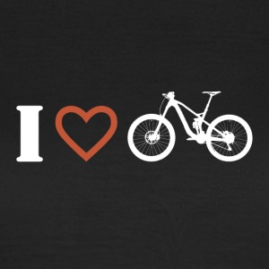 I love mountain biking 1 - Women's T-Shirt