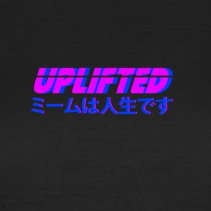 Uplifted with japanese lettering - Women's T-Shirt