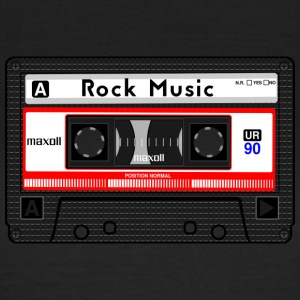 ROCK MUSIC KASSETTE - Frauen T-Shirt