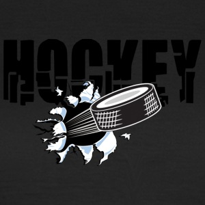 hockey puck - Dame-T-shirt