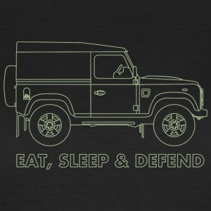 Eat Sleep Defend - Women's T-Shirt