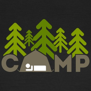 Camping Outdoors - Vrouwen T-shirt