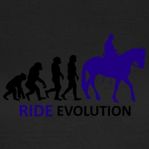 ++ ++ Ride Evolution - T-skjorte for kvinner
